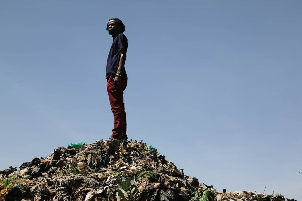 Juliani has been championing for the removal of the dumpsite from the hood he grew up in.