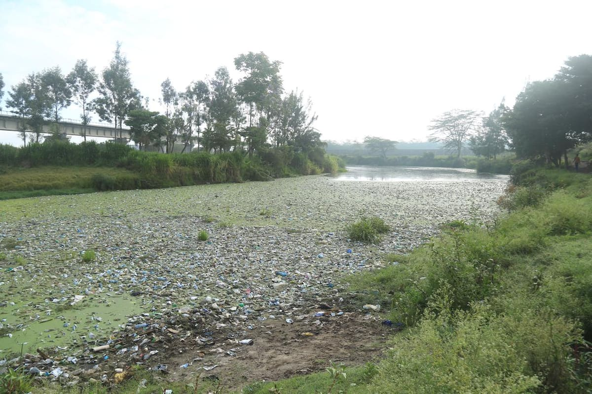 Governor Mutua to shut down companies dumping waste into rivers in Machakos county