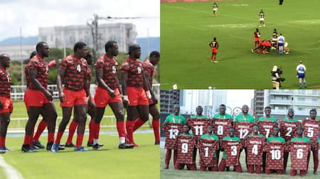 Tokyo Olympics: Kenya's Shujaa 7s Lose to South Africa in Second Pool C Fixture