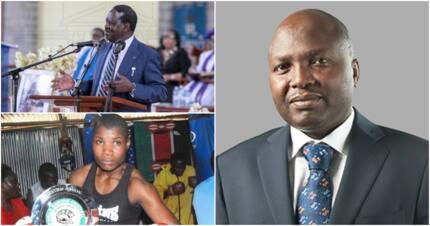 City lawyer defends Raila against neglect of boxer Conjestina Achieng