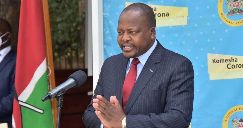 COVID-19: CS Kagwe Warns Some Clinics Could Be Vaccinating Kenyans With Water