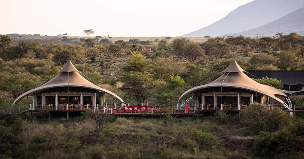 Mahali Mzuri, Kenyan hotel.
