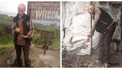 Nakuru Man Living Inside Menengai Crater Caves Says God Promised to Meet Him There