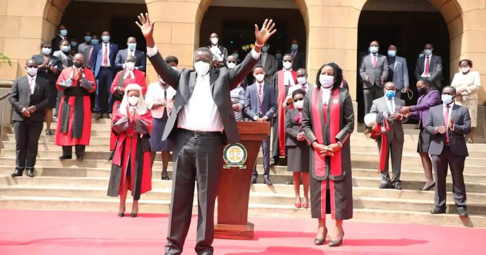 Opposition in this country has died, Former CJ David Maraga Says
