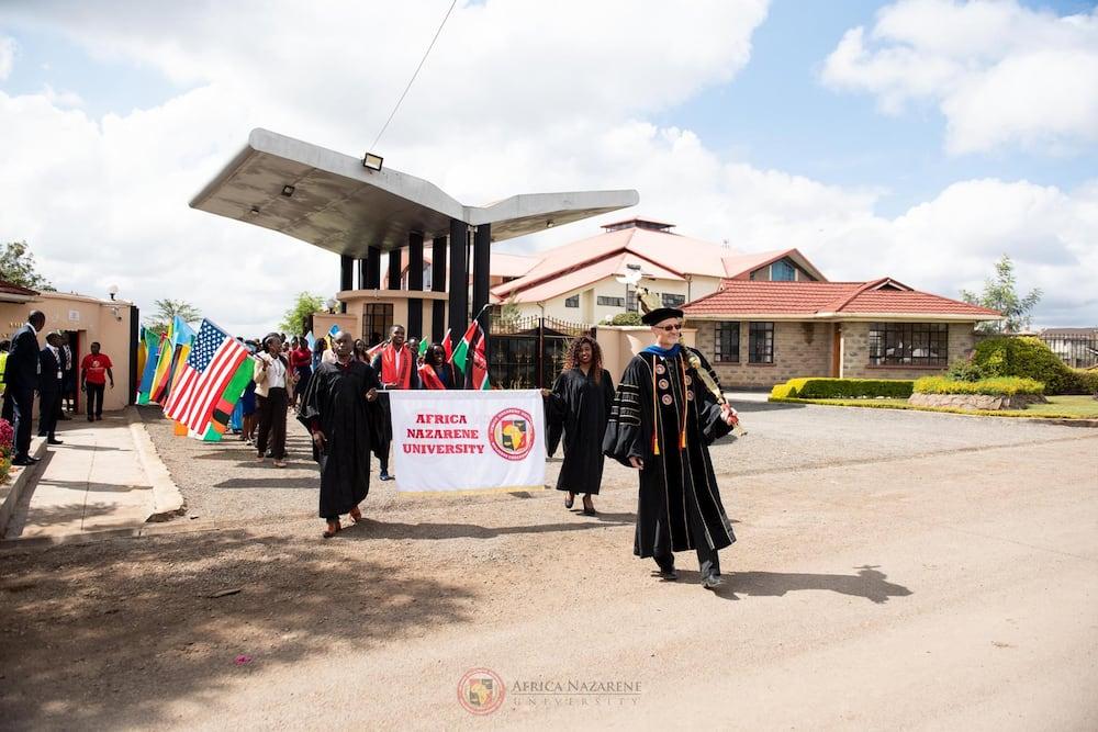 Africa Nazarene student portal
