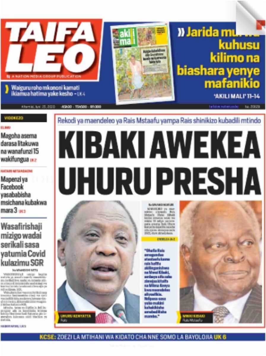 Magazeti ya Alhamisi, Juni 25: Raila Odinga yuko Dubai kwa upasuaji