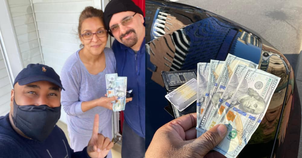 US journalist Shomari Stone picks wallet full of cash on streets, returns it to happy owner