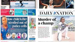 Kenyan Newspapers Review: Masten Wanjala Reportedly Walked Out of Police Cell while Covering His Head with Shuka