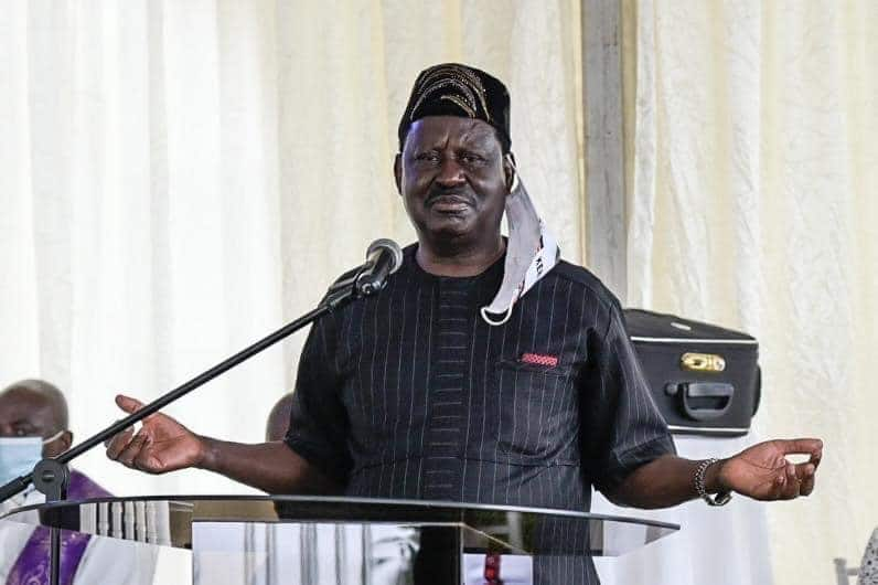 Raila Odinga dismisses claims he urged Kenyans to cremate deceased relatives