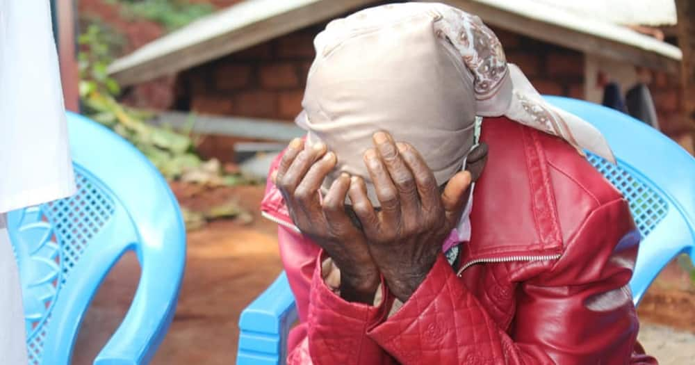 Phyllis Wanjiru, the elderly woman was living in a mud-walled house.