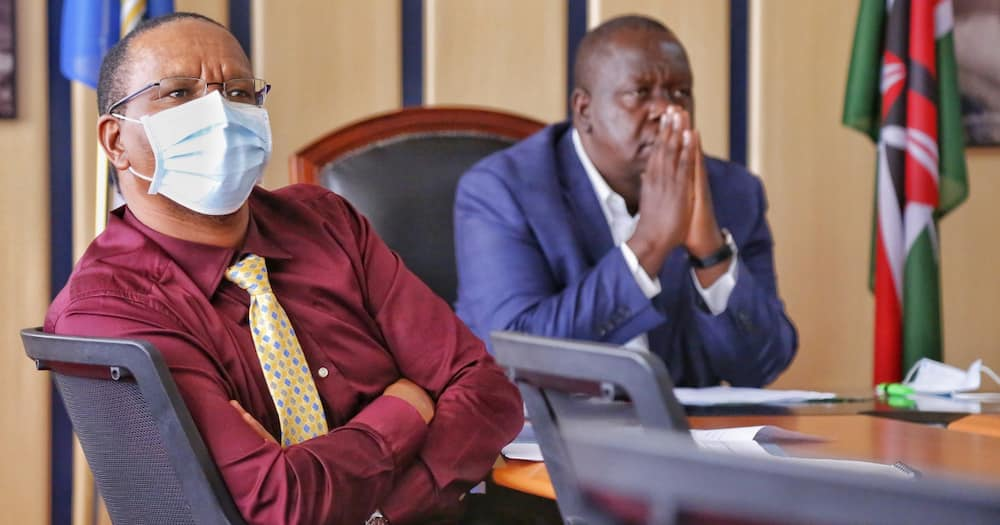 Karanja Kibicho denied being used to frustrate Deputy President Ruto.