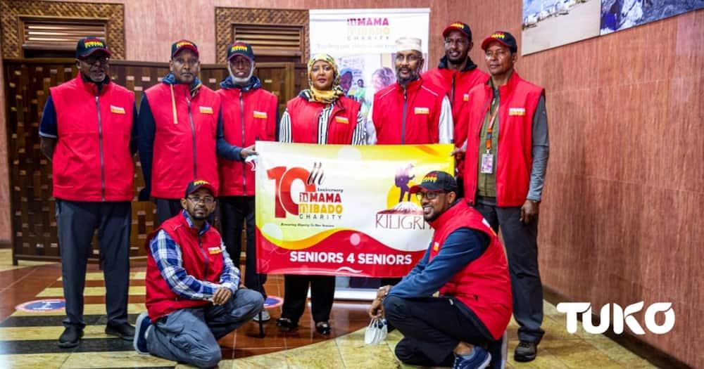 Senior Kenyans begin five-day Mt Kilimanjaro hike to raise KSh 5 million to feed the elderly