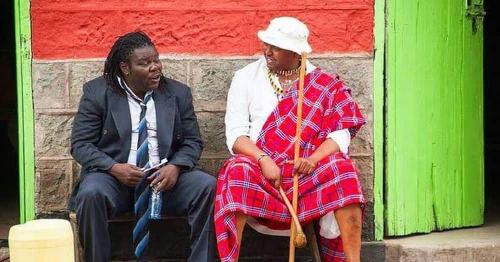 9 timeless photos of legendary actor Makokha as he turns 50 years