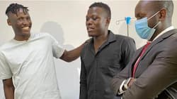 Michael Olunga Clears Patrick Matasi's KSh 429,000 Hospital Bill Weeks after Horrific Car Accident