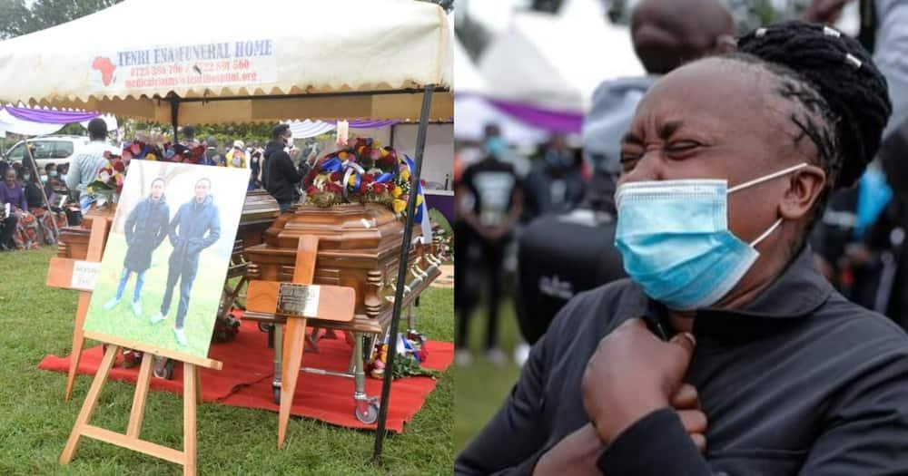 Kenyan celebrities demand justice for slain Embu brothers Benson Njiru and Emannuel Mutura.