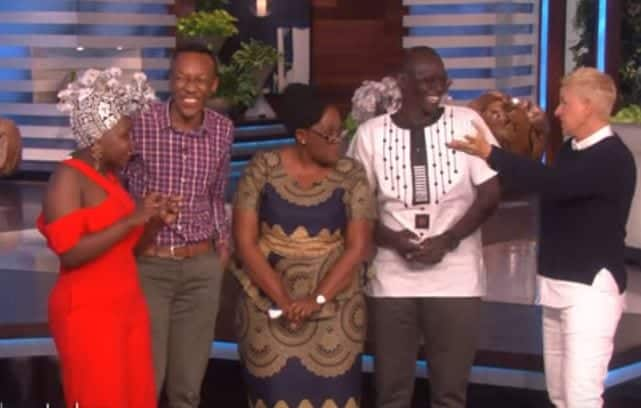 Kenyan family re-unites on Ellen Degeneres' show, wins KSh 5 million