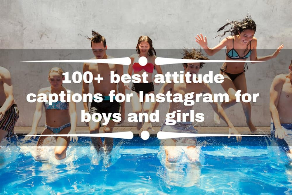 100+ best attitude captions for Instagram for boys and girls