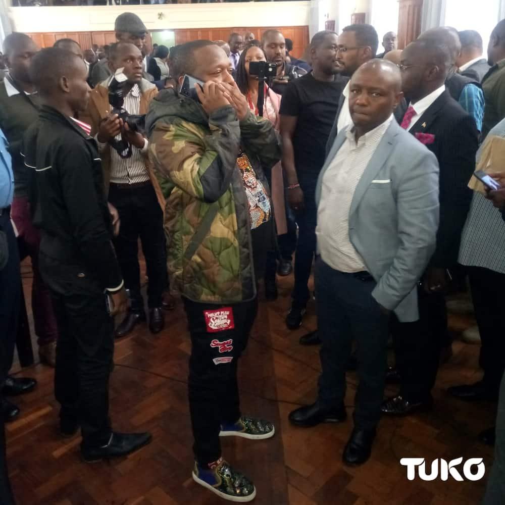 Over 50 Nairobi MCAs meet to discuss Sonko impeachment