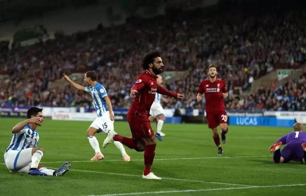 Salah scores only goal as Liverpool pip Brighton 1-0 to steer 7 points clear of Man City