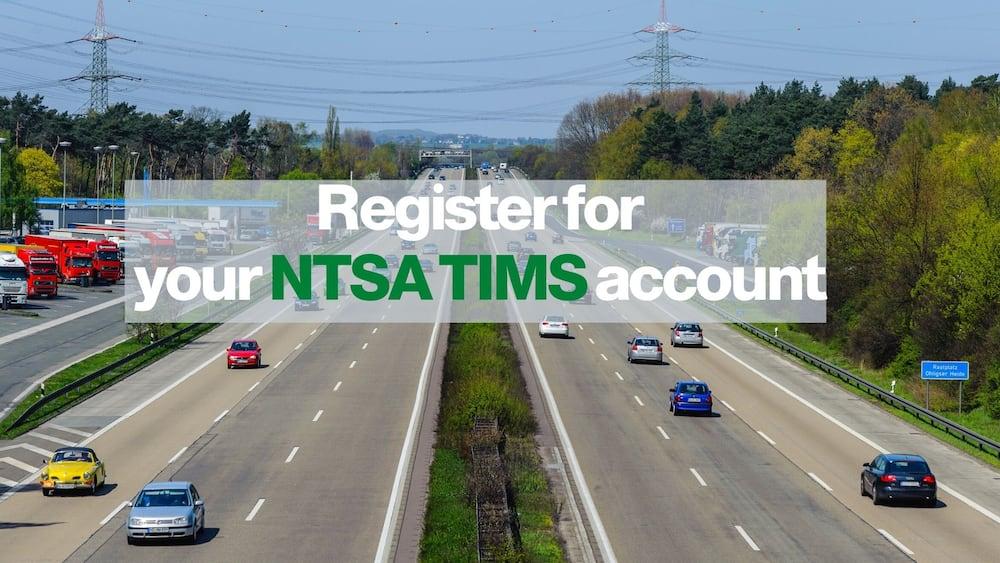 register for NTSA TIMS account
