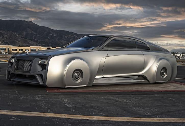 Justin Bieber's custom Rolls-Royce Wraith stuns netizens