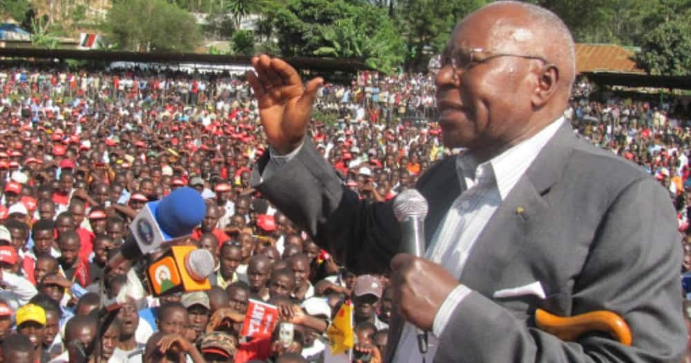 Raila, Mudavadi wahudhuria ibada ya wafu kwa mwendazake Simeon Nyachae