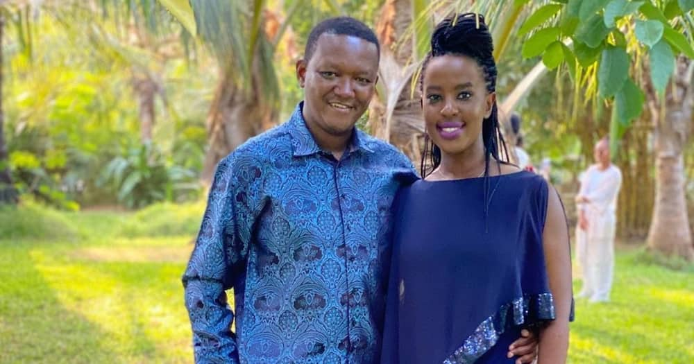 Alfred Mutua and Lilian Ng'ang'a launched A & L Hotel in July 2020.