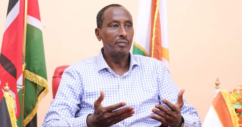 Governor Mohamed Abdi.