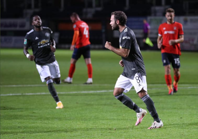 Luton Town vs Man United: Mata inspires Red Devils to FA Cup 4th round