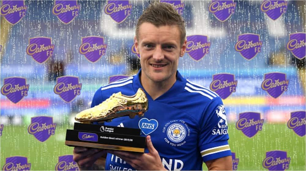 Jamie Vardy: Leicester City striker wins Premier League golden boot with 23 goals