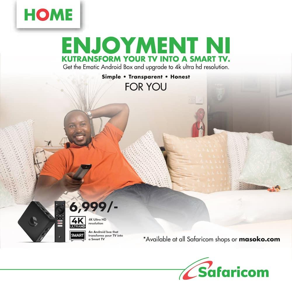 Safaricom Android TV