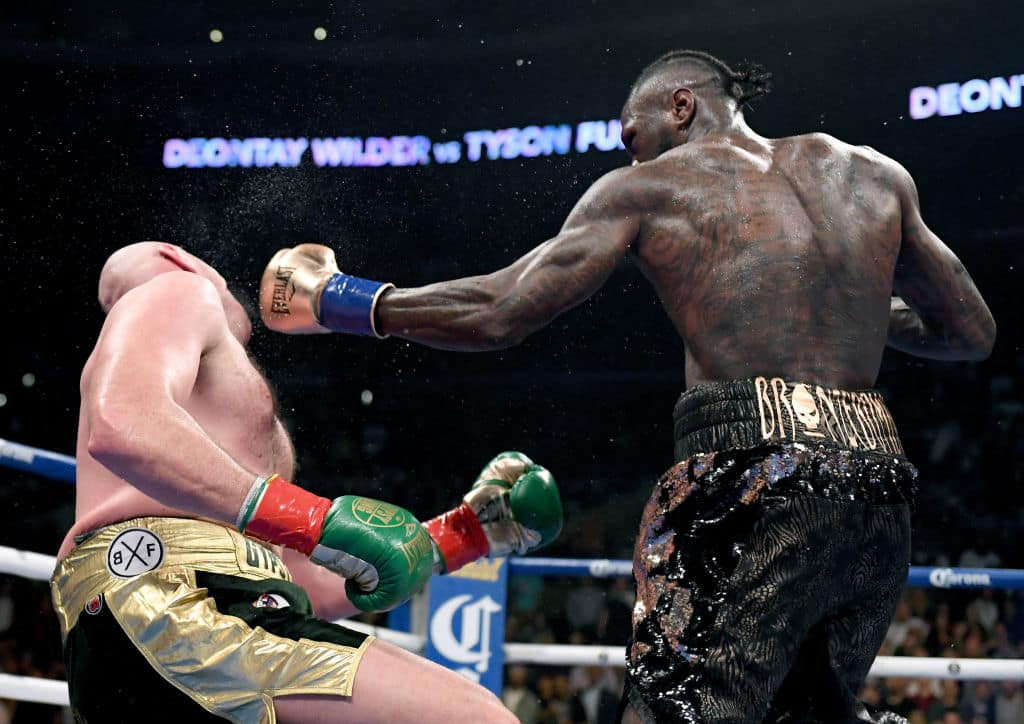 I had two decisions on that floor, stay down or get up - Tyson Fury