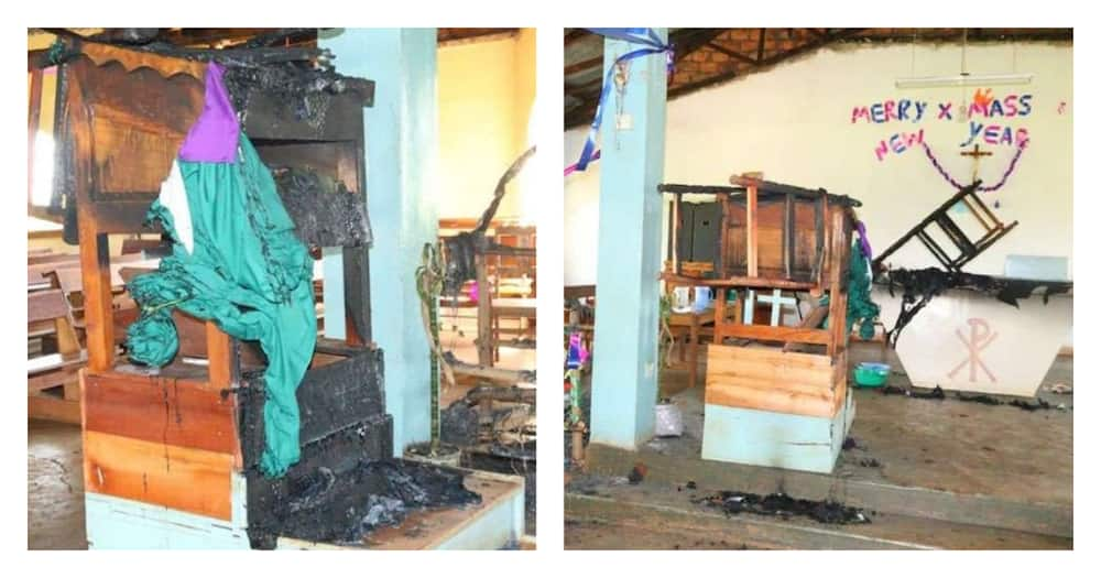 Kisii: Unknown arsonists set five churches on fire