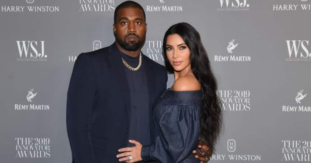 Kanye West and ex-wife to be Kim Kardashian. Photo: Getty Images.