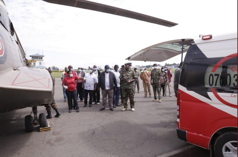 No more talks: Gov't deploys police in north eastern after Meru chopper crash