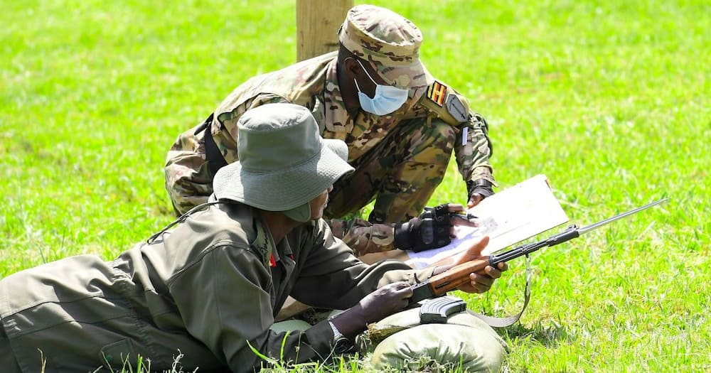 Photos of Yoweri Museveni Participating in Shooting Range Session Excite Netizens