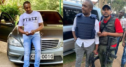 Who is he? Politician Steve Mbogo steals show at 14 Riverside Drive attack with sophisticated weapon