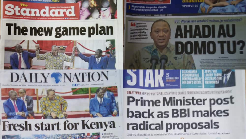 Kenyan newspapers review for November 28:Some Kenyans wary of the PM seat