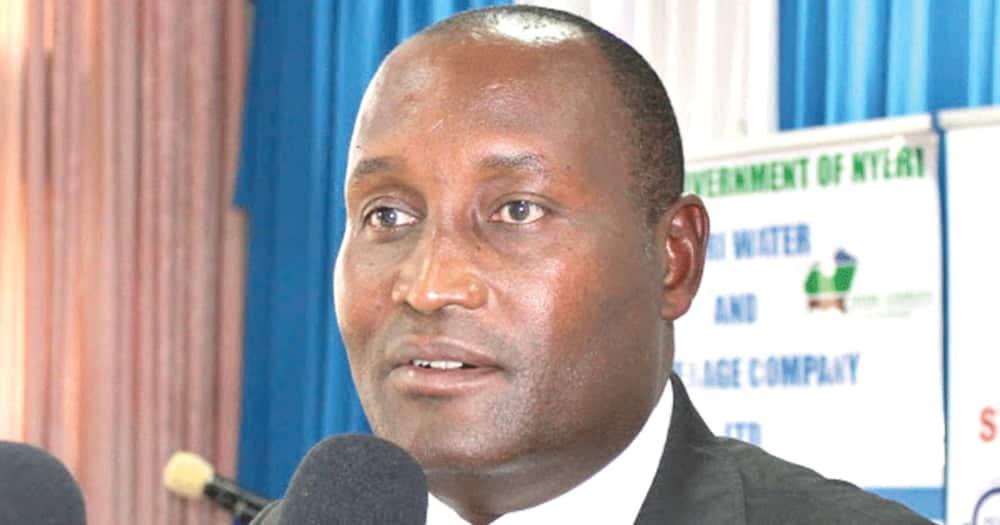 The former Nyeri boss Wahome Gakuru. Photo: Wahome Gakuru.