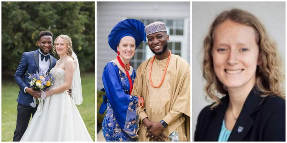 Beautiful US businesswoman changes name after tying the knot to Nigerian lover