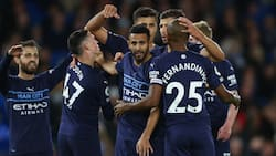 Clinical Manchester City See Off Brighton to Climb to Second