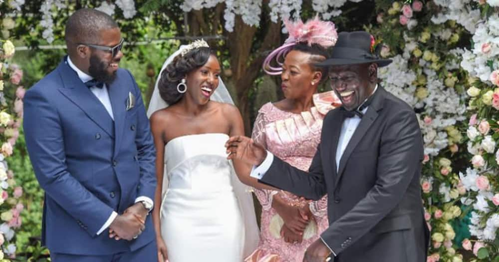 William Ruto says it's not easy giving away daughter to a Nigerian