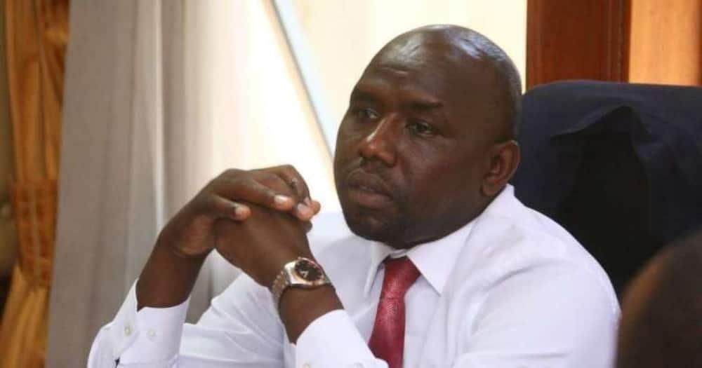 Elgeyo Marakwet Senator Kipchumba Murkomen. Photo: Kipchumba Murkomen.