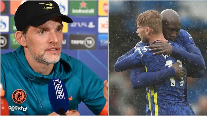 Blow to Chelsea as Tuchel Confirms Extent of Lukaku, Werner Absence