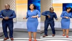 Victoria Rubadiri, Jeff Koinange Dance in Studio to Celebrate Eliud Kipchoge's Win