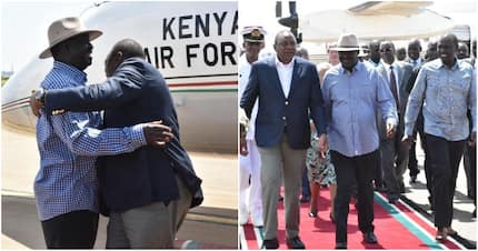 Uhuru says handshake with Raila is genuine, tells doubters to watch the space