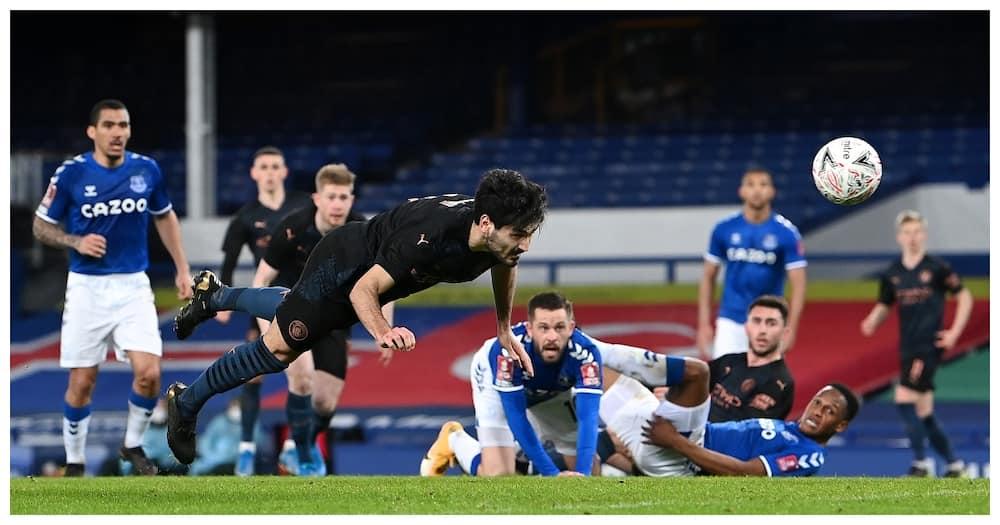 Everton Vs Man City: Gündogan, De Bruyne Keep Guardiola's Hope of Winning Quadruple Alive