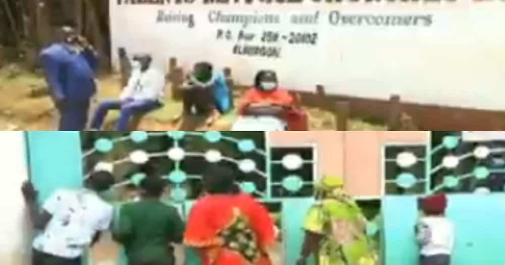 Molo Couple Hold Low Budget Wedding with No Food and Cake, Guests Complain