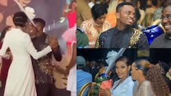 Diamond and Wema Sepetu become talk of town after sweet dancing in extravagant event