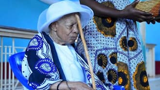 Tanzanian Woman Believed to Be 124 Years Celebrates Birthday at Church by Thanking God